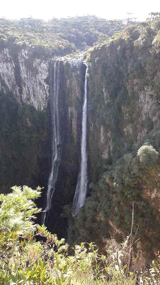 Cachoeira Véu de Noiva - Canyon Itaimbezinho