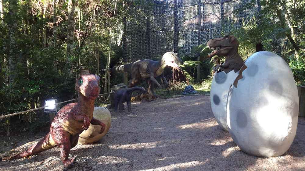 Vale dos Dinossauros - O que fazer em Canela