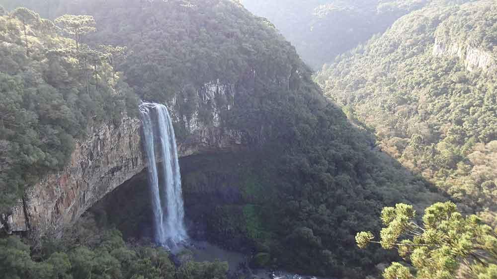 Parque do Caracol - Cascata Caracol - O que fazer em Canela