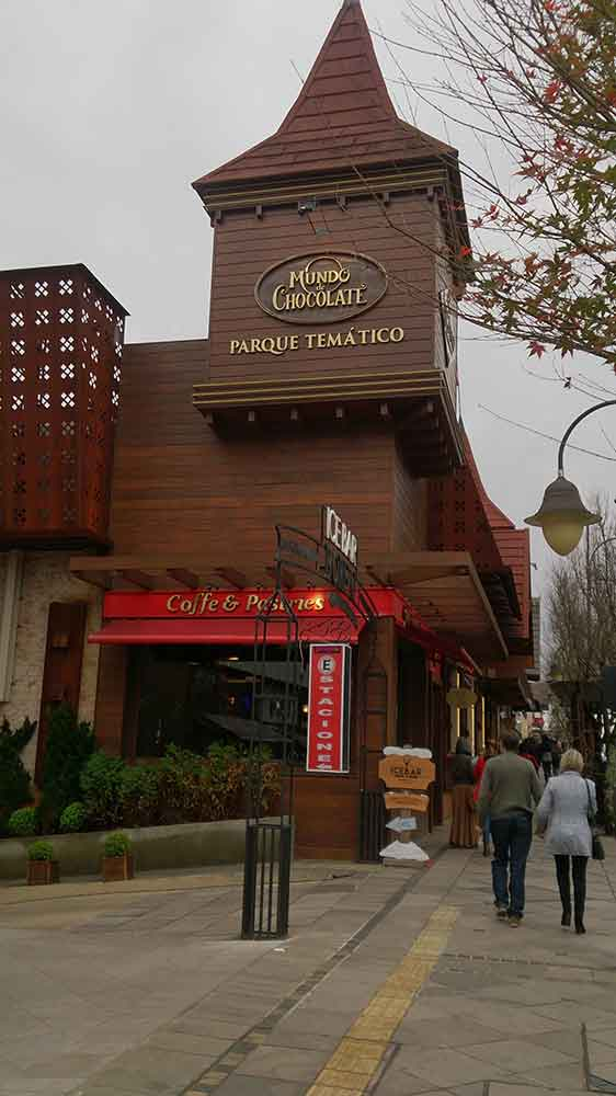 Fabrica de Chocolate - Mundo de Chocolate Lugano