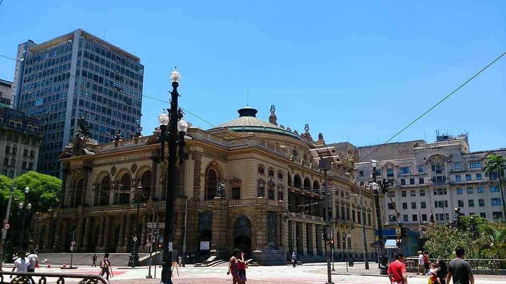 Centro de São Paulo - Teatro Municipal