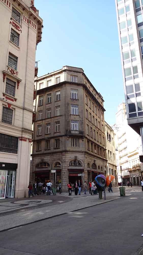 Edifício Antigo no Centro de São Paulo