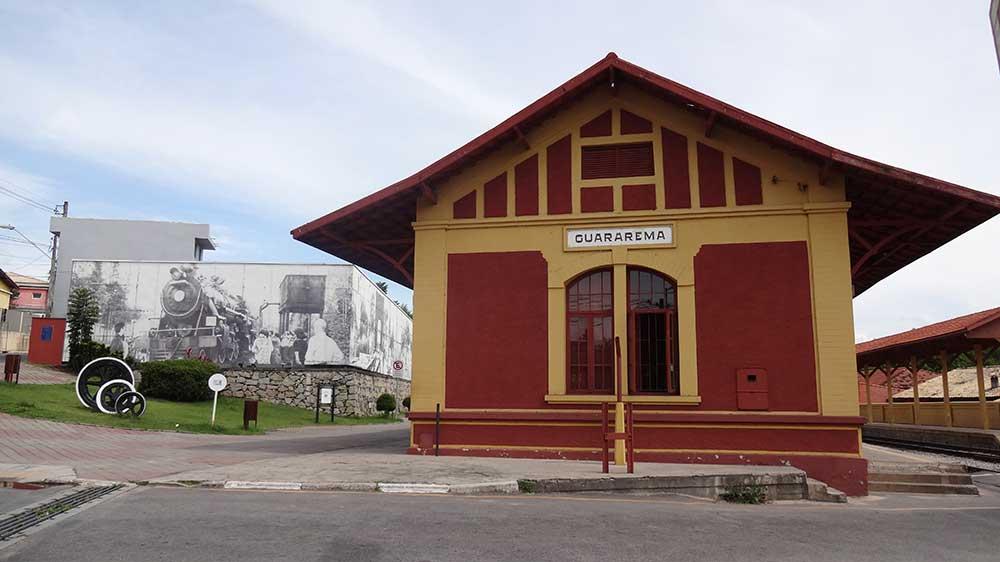 Estação de Guararema - Passeio de Trem