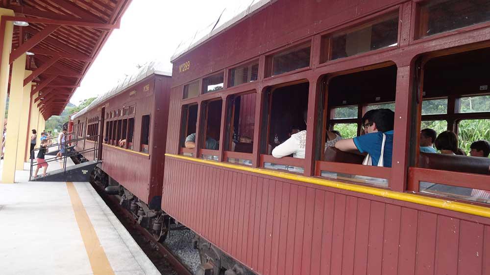 Passeio de Trem - Estação Luís Carlos