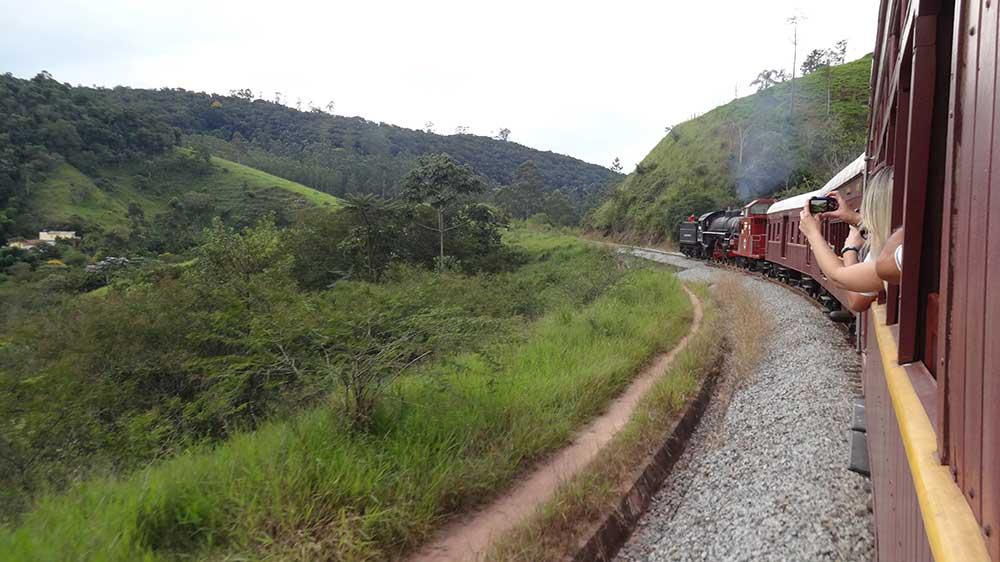 Passeio de Trem - Guararema