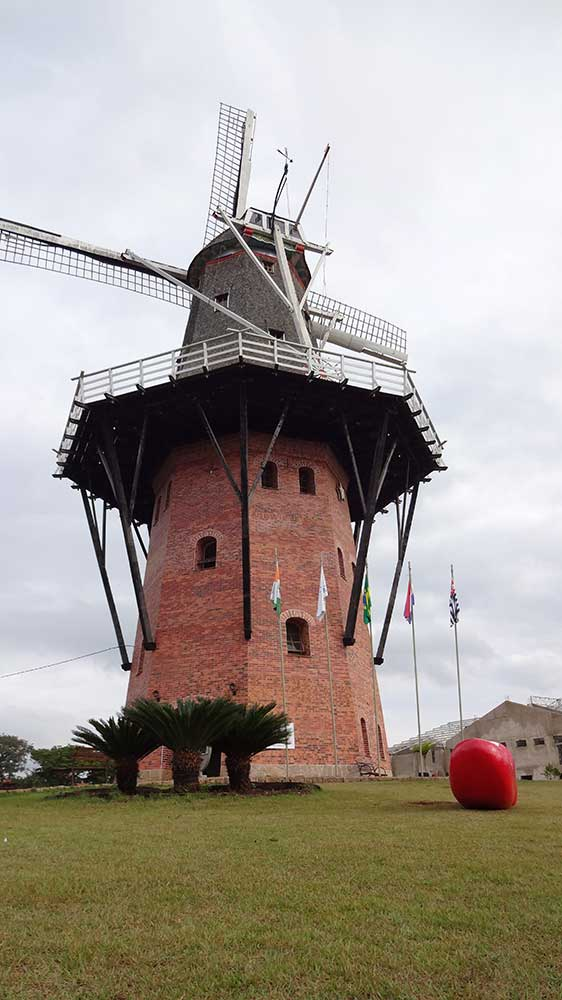 Moinho - Símbolo da Colonização Holandesa