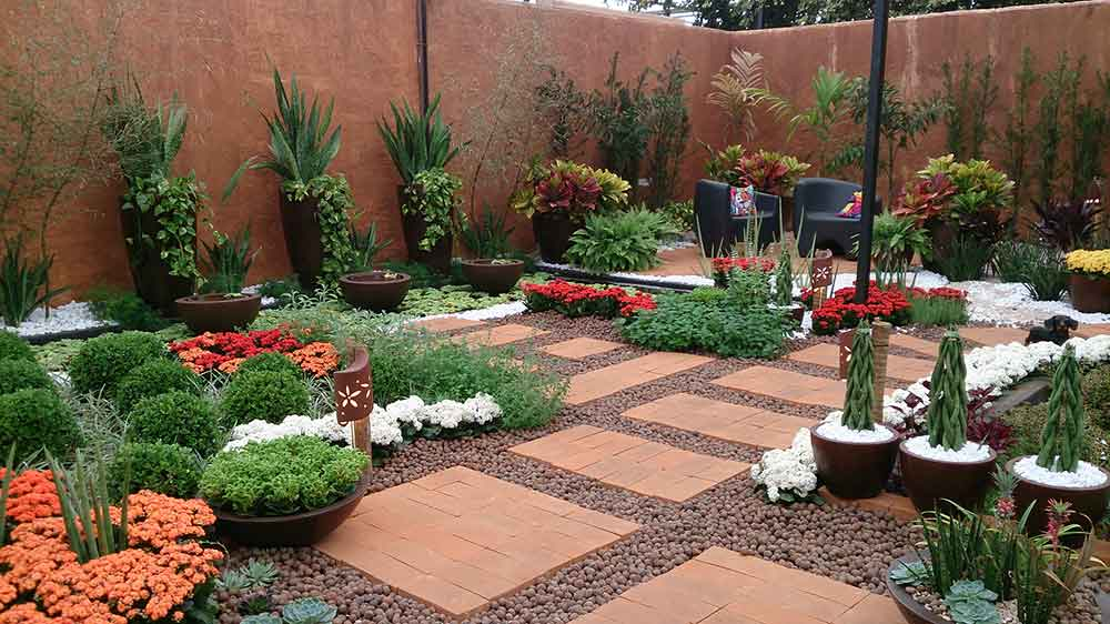 Modelo de Jardim - Expoflora Holambra