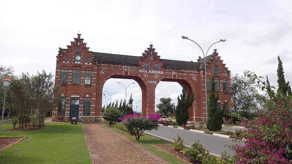 Expoflora Holambra - Portal de Entrada da Cidade