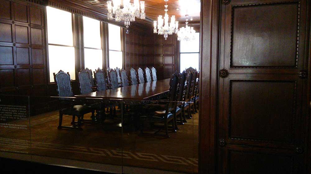 Sala de Reuniões - Farol Santander
