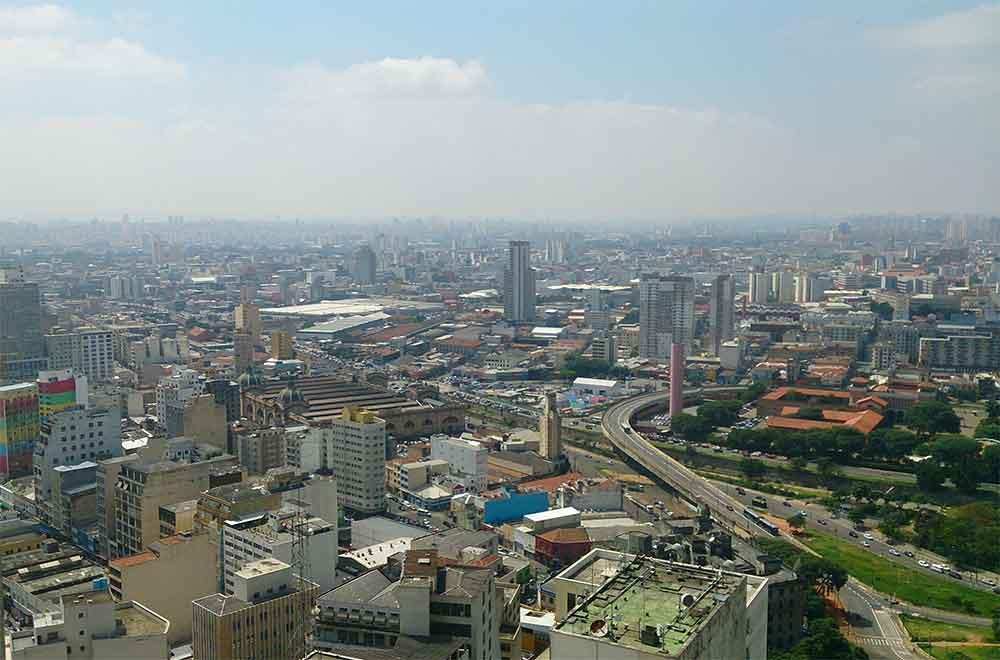 Vista do Farol Santander