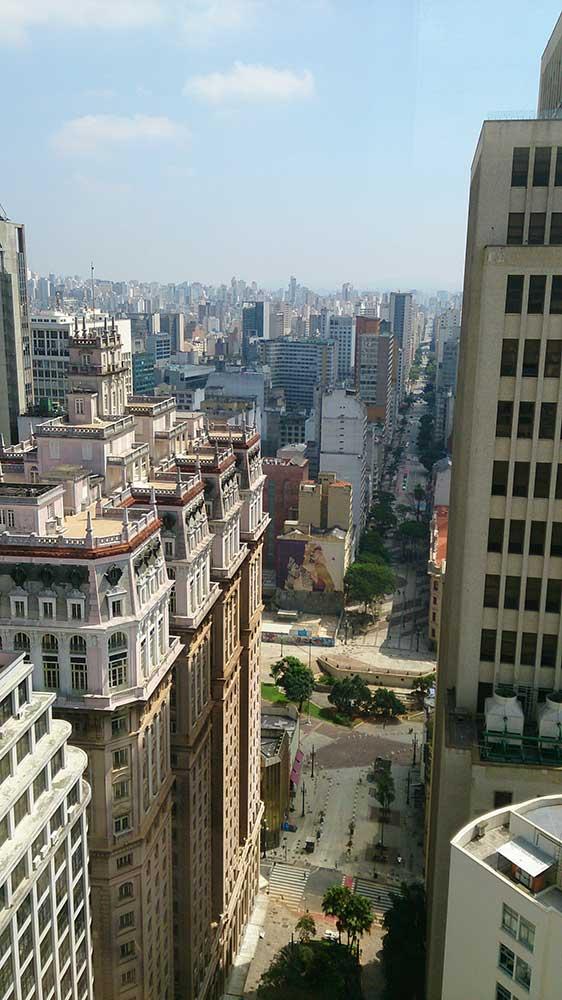Farol Santander - Vista do Edifício Martinelli