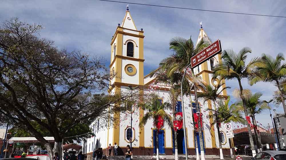 O fazer em Cunha - Igreja Matriz