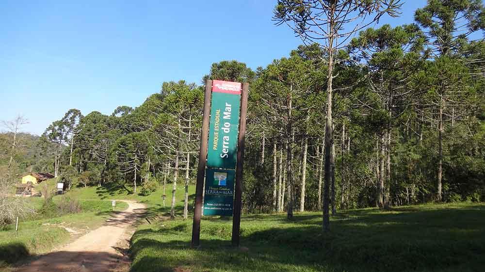 Entrada do Parque Estadual da Serra do Mar
