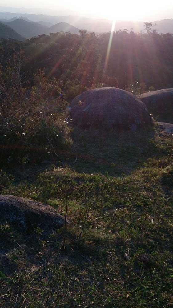 Pedra da Macela - Por do Sol