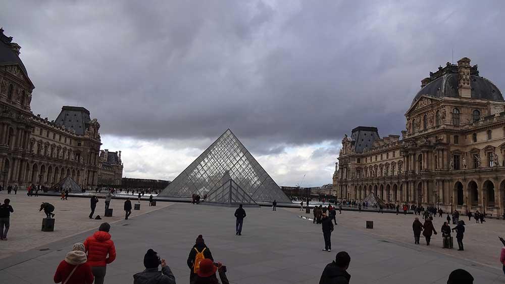 Melhores Destinos da Europa - Museu do Louvre Paris