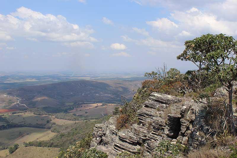 São Thomé das Letras - Vista do Pico do Gavião