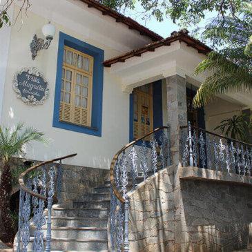 Pousada em São João del Rei, release sobre Villa Magnólia