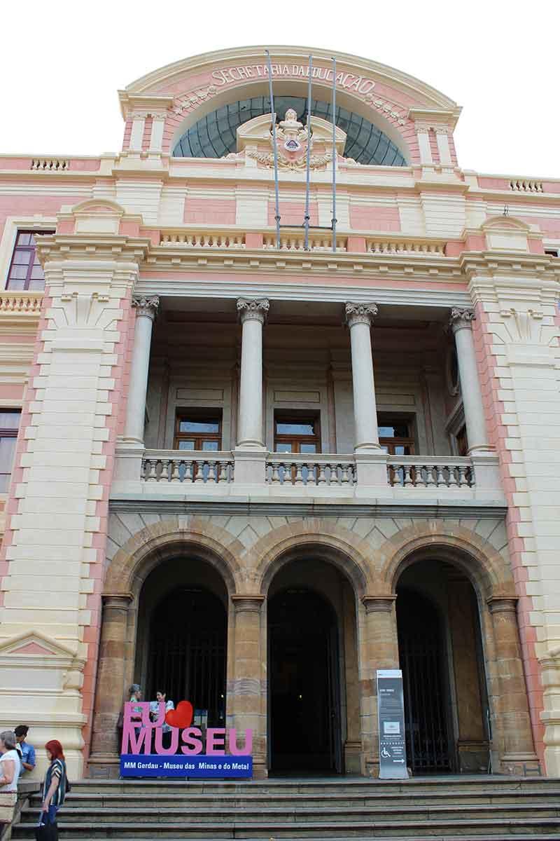 Museu das Minas e do Metal - Pontos Turísticos de Belo Horizonte