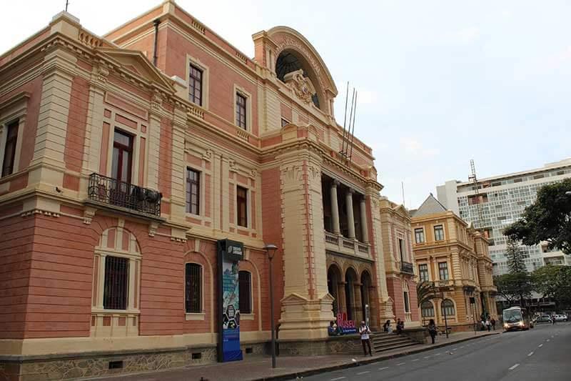 Museus da Praça da Liberdade - Pontos Turísticos de Belo Horizonte