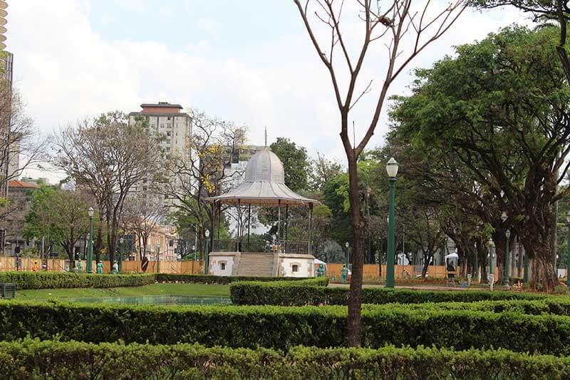Praça da Liberdade - Pontos Turísticos de Belo Horizonte