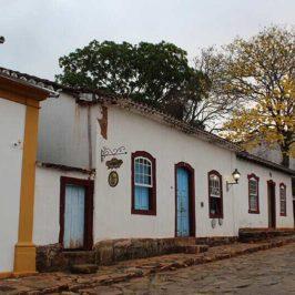 Rua de Tiradentes MG