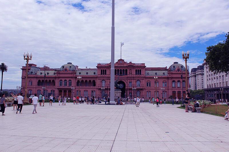 Lugares tranquilos para passar o Carnaval - Casa Rosada - Buenos Aires-AR