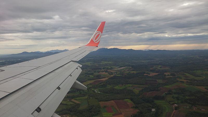 Chegando a Curitiba