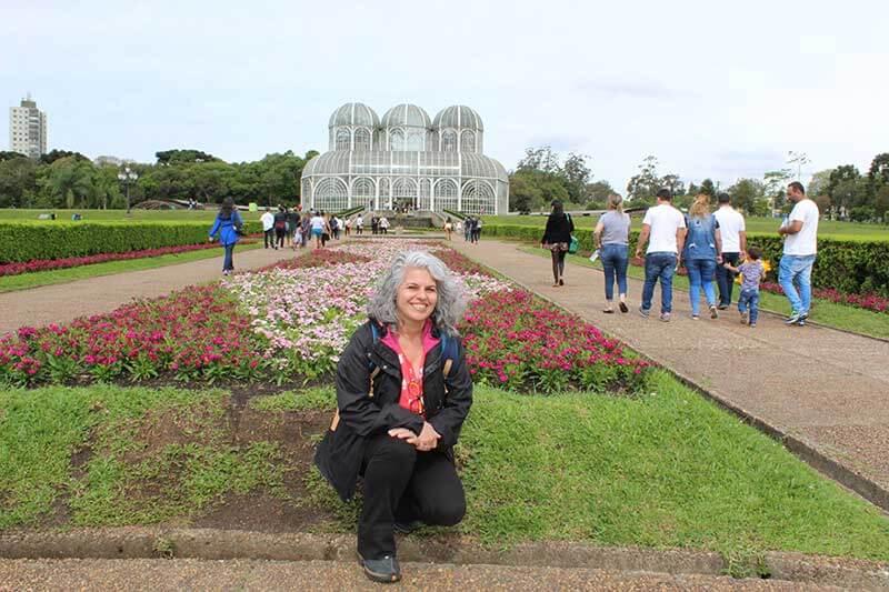 Eu - No Jardim Botânico - Lugares para ir em Curitiba