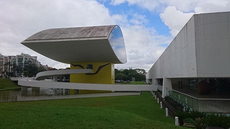 Museu Oscar Niemeyer - Lugares para ir em Curitiba