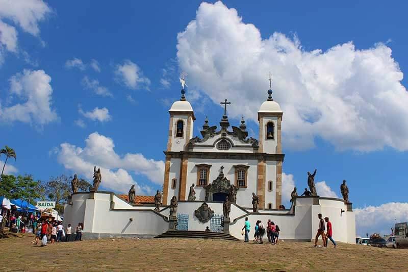 Basílica do Senhor Bom Jesus de Matosinhos - Passeios em Minas Gerais