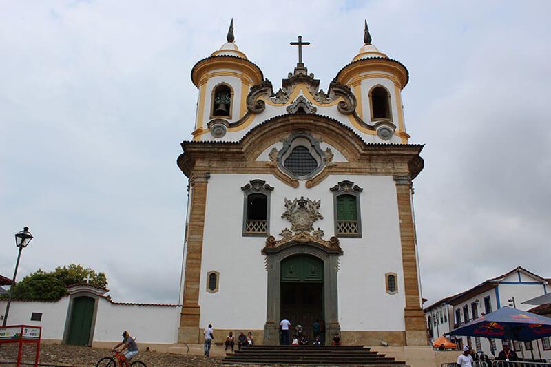 Igreja Nossa Senhora do Carmo - Pontos Turísticos de Minas Gerais