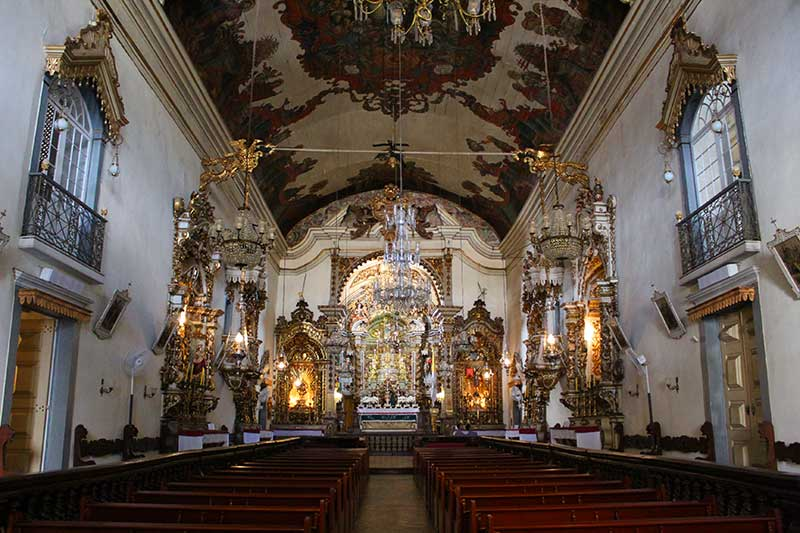 Igreja Nossa Senhora do Pilar - O que fazer em São João Del Rei