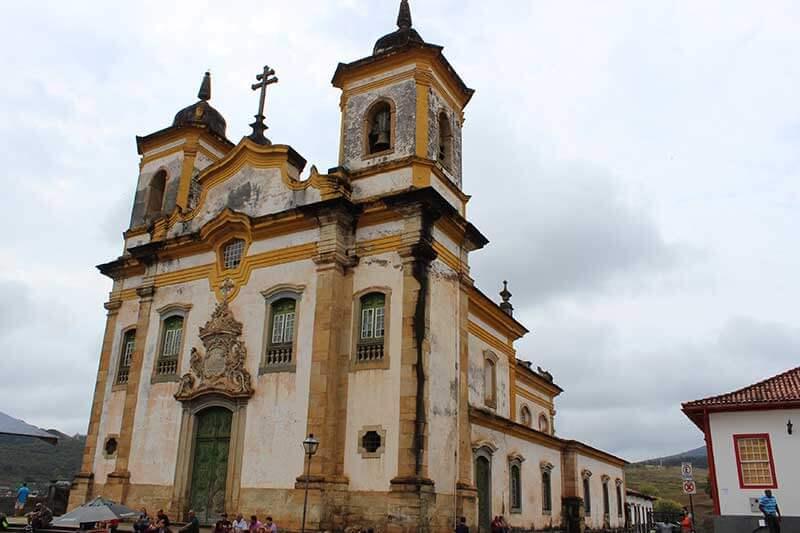 Igreja São Francisco de Assis - Pontos Turísticos de Minas Gerais