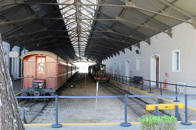 Museu Ferroviário Estação Maria Fumaça - O que fazer em São João Del Rei