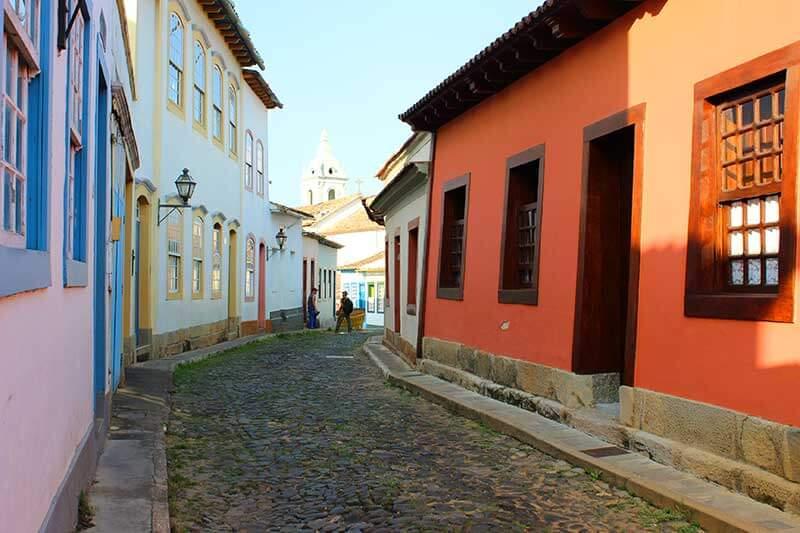 Rua Santo Antonio Rua das Casas Tortas - O que fazer em São João Del Rei