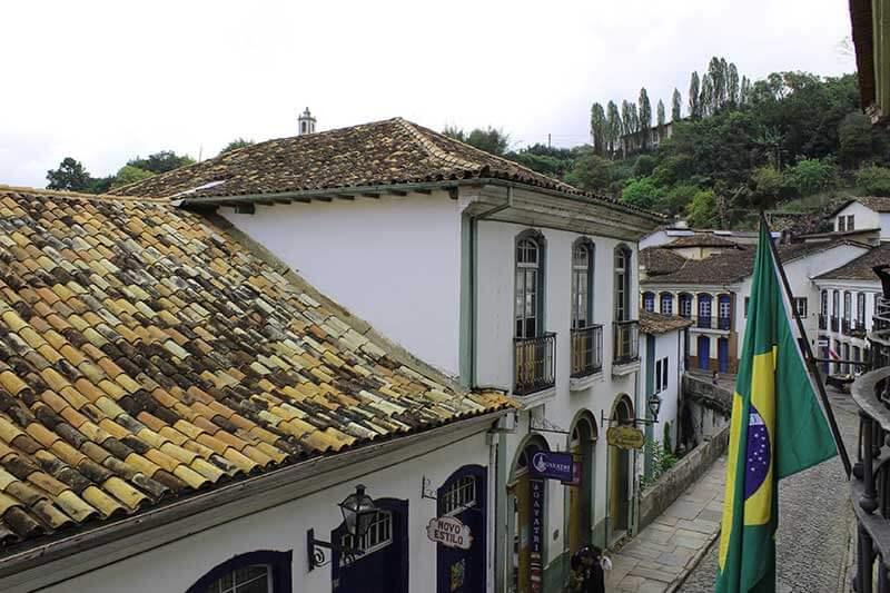 Ruas de Ouro Preto - Turismo em Minas Gerais