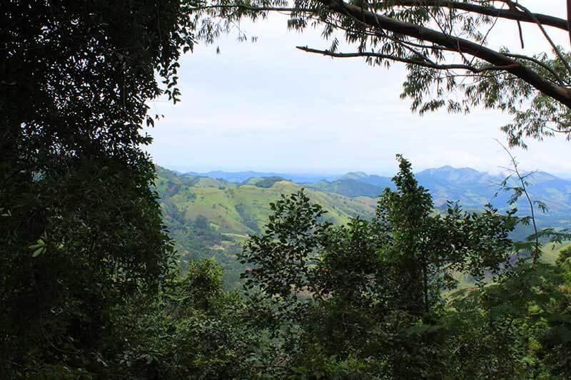 Vista Mirante da Gruta - São Francisco Xavier SP