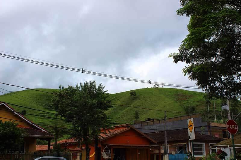 Vista da Avenida XV de Novembro - São Francisco Xavier SP