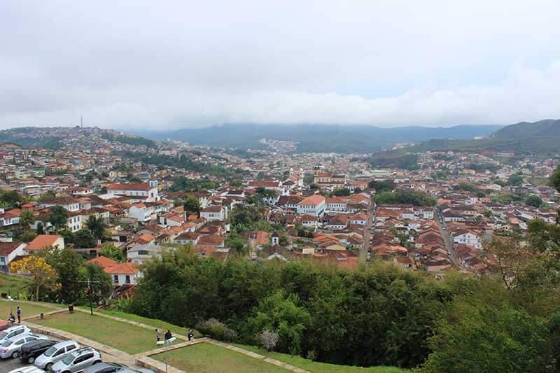 Vista de Mariana - Torre Basílica São Pedro - Pontos Turísticos de Minas Gerais