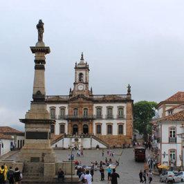 Museu da Inconfidência Praça Tiradentes - Passeios em Ouro Preto