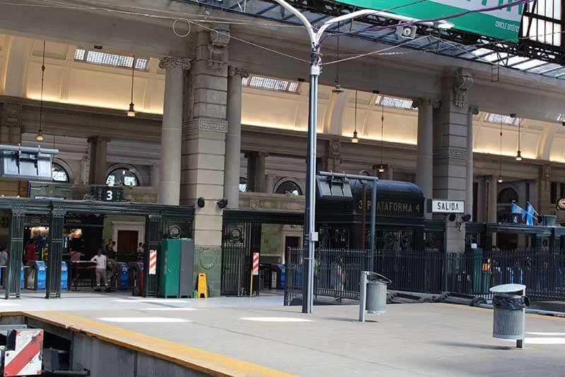 Estação de Trem Retiro - Buenos Aires