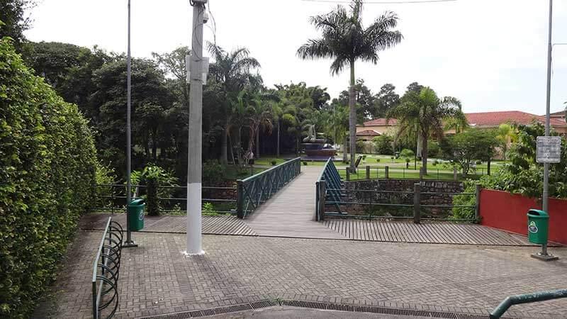 Entrada para Ilha Grande em Guararema - São Paulo