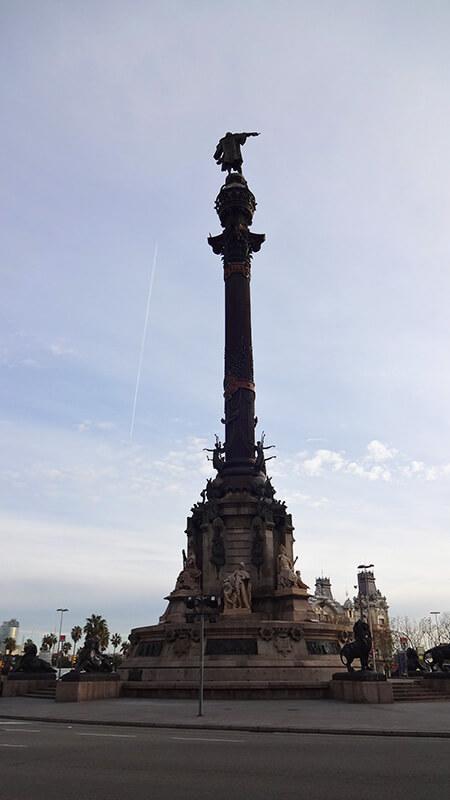 Monumento a Colombo - O que fazer em Barcelona