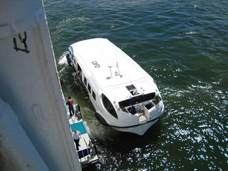 Barco Auxiliar - Cruzeiro Punta del Este