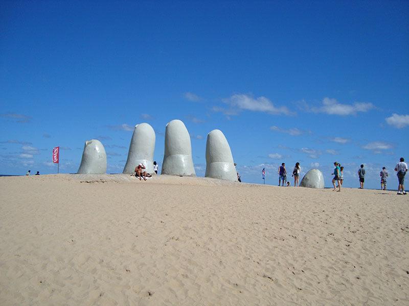 Monumento ao Afogado - Los Dedos - La Mano