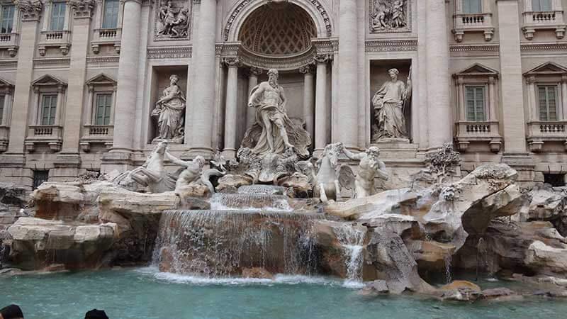 Fontana di Trevi - Roteiro Roma
