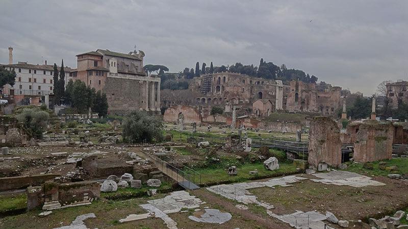 Forum Romano - Roteiro Roma
