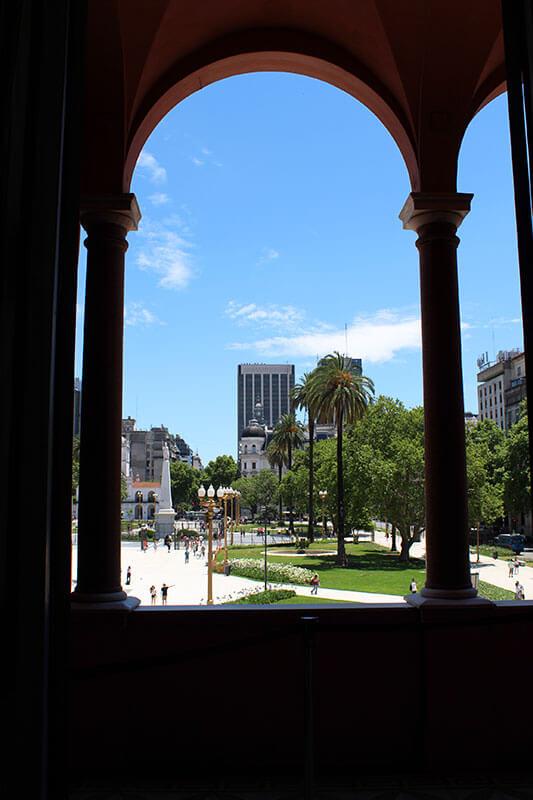 Vista da Praça de Maio - Lugares para visitar em Buenos Aires