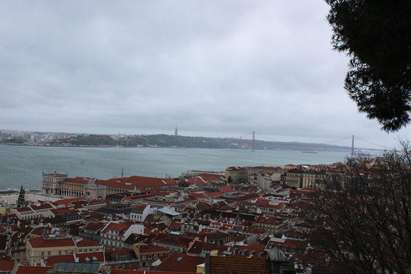 Lisboa - Vista do Castelo São Jorge