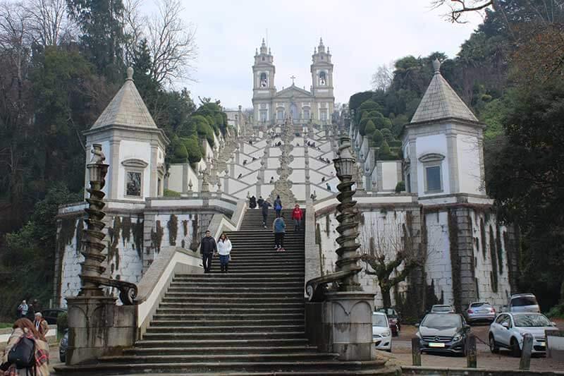 Santuário Bom Jesus do Monte - Braga em Portugal